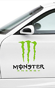 monsterenergy auto sticker auto lichaamsversiering sticker size: 35cm