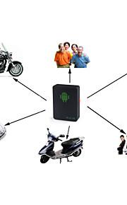 gprs posizione inseguitore mini inseguimento A8, GSM / GPRS / GPS pista sia attraverso il pc&applicazione smartphone, per i bambini /