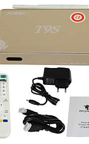 T9S - TV Box - Quadcore - voor Android 4.4 - 8GB NAND Flash - ROM 1GB DDR3 - RAM RK3128