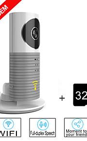 besteye® 32 GB TF-kaart en slimme camera ip met ir nachtzicht draadloze wifi surveillance camera