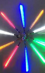 DC12V Eingang 46W 50cm lang 72pcs 5050 SMD LED Meteor regen Licht, bunt 10 Stück / Set