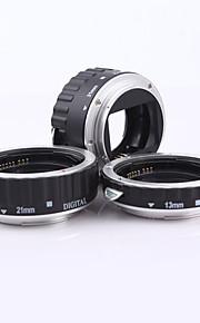 metal mount autofokus makro forlængerrør ring AF til kamera Canon EOS linse