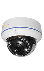 ann® 720p vifte ir udendørs vandtæt bullet ip kamera med vandal bevis (100w 1280 * 720p)