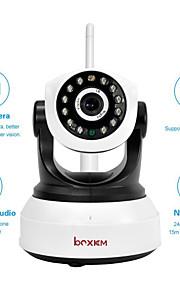 Dag Nat/Motion Detection/Dobbeltstrømspumpe/Fjernadgang/IR-klip/Wi-Fi Beskyttet Setup/Plug and play - Indendørs - boxkam - PTZ - IP-kamera