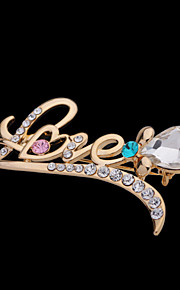 Broche Alliage Or Femme