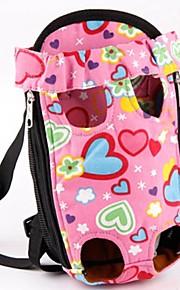 grin med pets® dejlige lyserøde hjerte form foran rygsæk taske bærer for kæledyr hunde (assorterede størrelser)