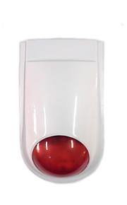 Alarme 110db extérieur imperméable sans fil 200w cambrioleur sirène haut-parleur d'alarme d'incendie