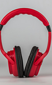 iført en bluetooth headset