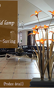 Table Lamps LED Orchid Traditional/Classic Metal