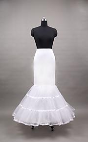Déshabillés Robe sirène et robe évasée Ras du Sol 3 Polyester Blanc