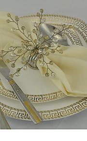 servilleteros ( Amarillo , Acero Inoxidable ) - No personalizado