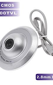 1200tvl CMOS cor câmera mini ufo câmera 2,8 milímetros de largura ângulo de câmera de segurança CCTV para interior caixa de metal