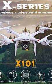 wifi FPV reaaliaikainen lähetys yhden avain takaisin MjX x101 rc drone kamera HD 720p rc quadcopter helikopteri