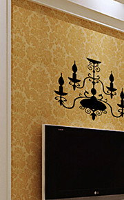 PVC Classic Lamp Wall Stickers
