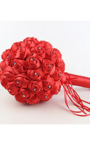 Rund - Roser - Bukett ( Röd/Purpur