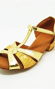 Детская обувь - Атлас - Номера Настраиваемый ( Серебряный/Золотой ) - Латино