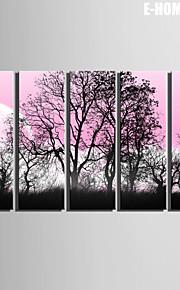 e-Home® venytetty kankaalle taidetta varjossa puiden koriste maalaus sarja 5