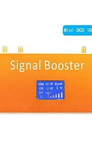 New LCD Display DCS 1800MHz Mobile Phone Signal Repeater Booster Amplifier Coverage 500m²