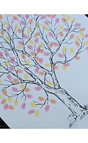 Finger Print Wedding Tree, Wedding Guest Book Alternative