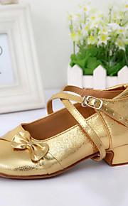 Женская обувь/Детская обувь - Кожа - Номера Настраиваемый ( Серебряный/Золотой ) - Современный танец