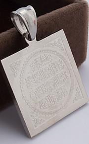 Collier Anniversaire/Mariage/Engagement/Cadeau/Sorée/Quotidien/Occasion spéciale/Casual/Bureau & Carrière Inox Femme