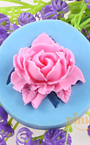 цветочные формы помадные торт шоколадный силиконовые формы, формы для выпечки украшение инструменты
