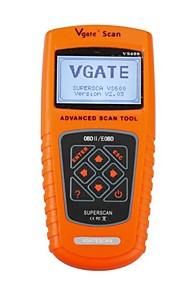 VS600 vgate ODB automobilistico obd2 obdii diagnosticare codice strumento scanner lettore