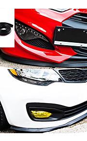 più nuovo styling auto 2.5m / roll più deflettori universale spoiler del paraurti anteriore labbro accessori di esterno