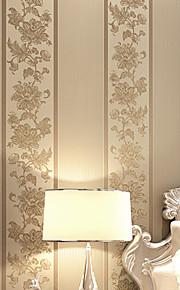 contemporaine papier peint art déco rétro 3d broderie frange grand mur fleur de tapisserie murale art non-tissé de tissu