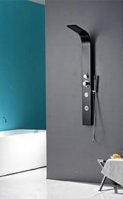Robinet de douche - Contemporain - Douche pluie / Jet de côté / Douchette inclue - Acier inoxydable ( Peintures )