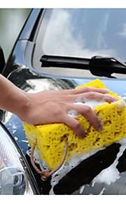 mini gele auto auto wassen spons blok