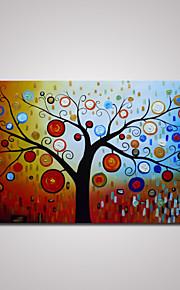 håndmalt abstrakt tree olje maleri på lerret uten ramme