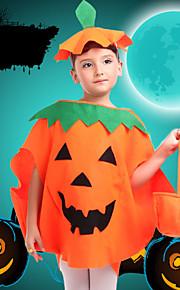Kids' Dancewear Tops Children's Performance Polyester Appliques 2 Pieces Orange
