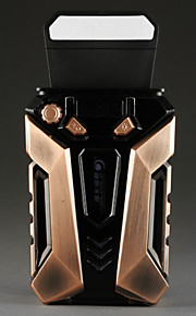koeler en koeler laptop koelventilator ice7 / 5v met led-scherm