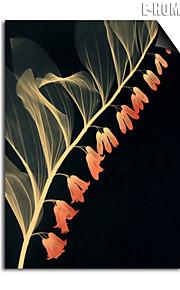 e-home® magnetisk print utskiftbar art bleke gule blomster dekormaling multi stil valgfritt
