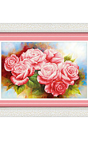 DIY KIT Diamond Cross Stitch , Floral 81*75