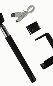 pliage selfie bâton bluetooth d09 monopode avec miroir pour téléphone mobile et la taille de la caméra: 29x8x6cm