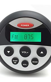 waterdichte marifoon stereo atv utv audio-ontvanger + 2 paar 6.5 inch high-power overhandigen Waterproff speakers