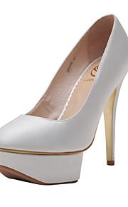 Chaussures de mariage - Rouge / Blanc - Mariage / Habillé / Soirée & Evénement - Talons / A Plateau / Bout Fermé - Talons - Homme