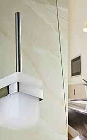Suporte para Escova de Banheiro , Contemporâneo Espelhado Montagem de Parede