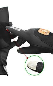 Guantes Ciclismo / Bicicleta Hombres Dedos completos Mantiene abrigado / A prueba de viento / Listo para vestir / Guantes TáctilesOtoño /