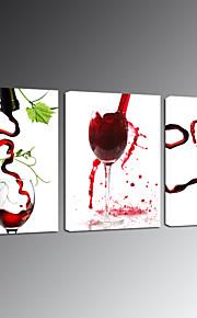 visuelle verre de vin star®modern Toiles Tendues vente chaude art mural prêt à accrocher