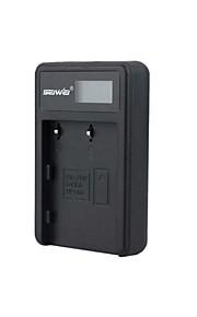 camera acculader met het scherm voor pentaxd-LI50 zwart