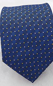 Men's Classic Fashion Small Dots Microfibre Woven Necktie 8 colours available