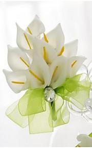 Small Size Green Calla Wedding/Party Boutonniere (8*10cm)