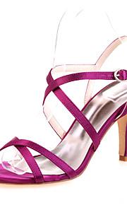 Chaussures de mariage - Noir / Bleu / Rose / Violet / Ivoire / Blanc / Argent / Champagne - Mariage / Soirée & Evénement - Bout Ouvert -