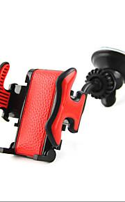 bil bredde justerbar 360 graders rotation dual stikkontakt sucker telefonholder navigation vugge