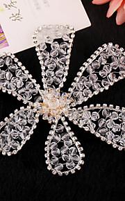 Celada Flores Boda / Ocasión especial Rhinestone / Cristal / Perla Artificial Mujer / Niña de flor Boda / Ocasión especial 1 Pieza