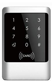 waterdichte metalen omhulsel MF1 / em kaart één deur toegangscontrole met touch toetsenbord