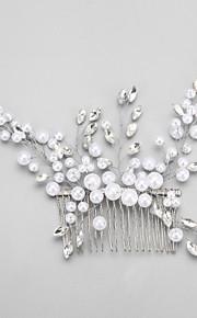 Celada Peinetas Boda / Ocasión especial Rhinestone / Aleación / Perla Artificial Mujer / Niña de flor Boda / Ocasión especial 1 Pieza